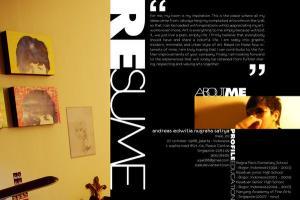 Portfolio for Magazine Design