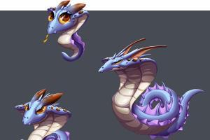 Portfolio for Monster character design