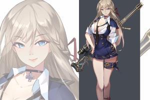 Portfolio for Game character design/Manga