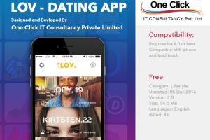 Portfolio for Dating app development