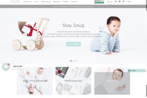 Portfolio for Shopify template Customisations