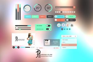 Portfolio for Social Media Kits Design