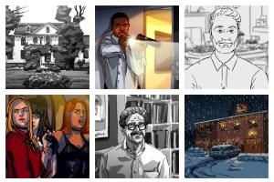 Portfolio for Professional atmospheric storyboards