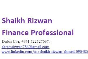 Portfolio for Finance & Accounts Modeller / Forecaster