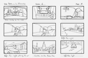 Anna And The Apocalypse storyboards