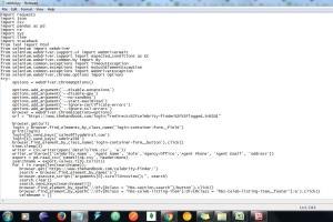 Portfolio for Software Developer/Web Scraping Expert