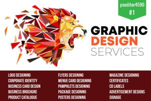 Portfolio for Graphic designing and Photoshop editing