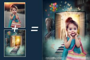 Portfolio for Retoucher, photo editing