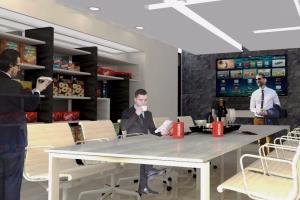 Portfolio for Architect. Project development, 3D model