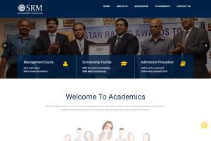Portfolio for Srm Admissions