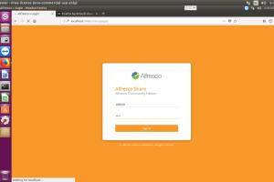 Portfolio for Alfresco Setup Linux