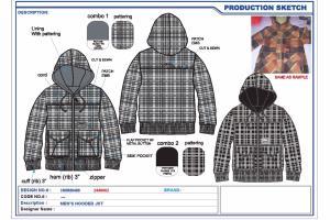 Portfolio for Fashion Flats and CADs Creator