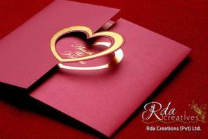 Portfolio for invitation card design