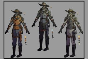 Portfolio for Character Concept Artist
