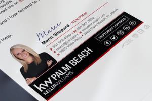 Portfolio for Email Signature | html email signature