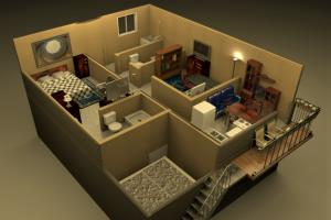 Portfolio for I will make your 3D w´SweetHome3D
