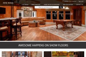Carpet company website