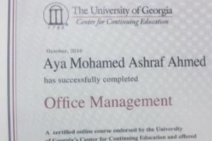 Portfolio for ِAdministration Assistant