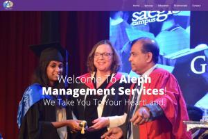 Website- Aleph management services