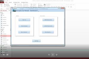 Portfolio for Microsoft Access Database
