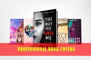 Portfolio for Book cover designer&marketing consultant