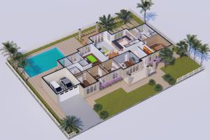 Portfolio for Making 3D floorplan