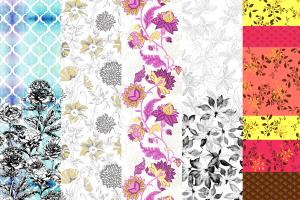 Portfolio for Textile & Surface Designer