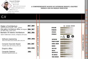 Portfolio for 3d designer and interior architect