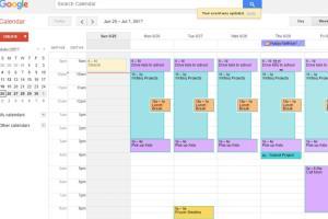 Portfolio for Calendar/Schedule Management