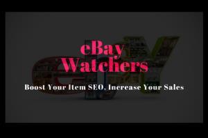 Portfolio for Add 300 eBay Watchers to Boost Sales
