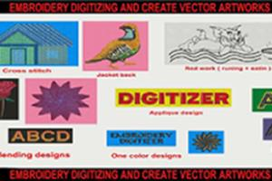 Portfolio for Embroidery Digitizer