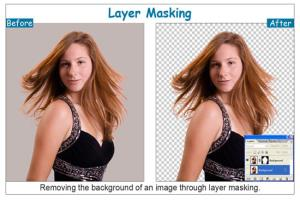 Portfolio for Hair Masking or Layer Masking