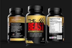 Portfolio for supplement label design and packaging
