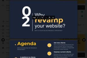 Portfolio for Presentation Designs