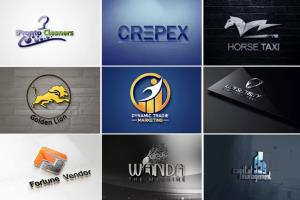 Portfolio for 2D,3D logo design