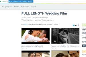 Portfolio for Video Editor, Motion Graphic Artist