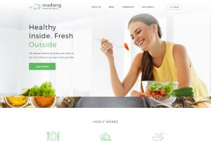Portfolio for Healthy Food Ordering web development