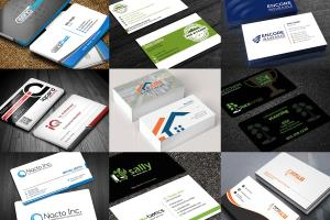 Portfolio for Business Card | Visiting Card Design