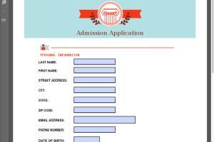 Portfolio for Editable PDF Form Design.