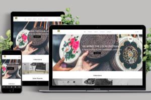 Portfolio for Design Responsive WordPress Website