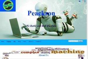 Peacron website project