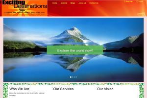 Bootstrap corporate Web design