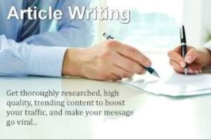 Portfolio for Article Writing and Research