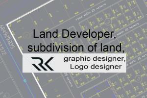Portfolio for Land Developer and graphic designer