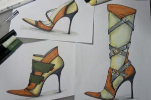 Portfolio for Shoes designer