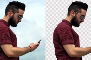 Portfolio for Photoshop Remove Background Services