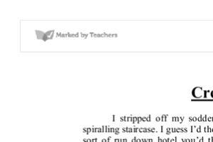 Portfolio for creative English writting