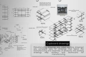 2D manufacturing and drawing