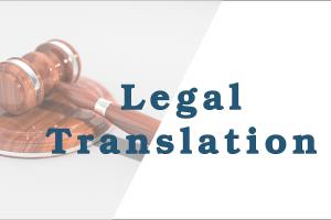 Portfolio for Legal translator