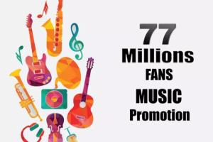 Portfolio for music promotion for your soundcloud
